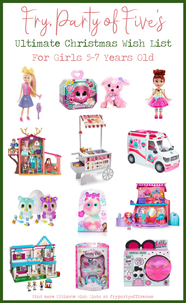 Christmas Gift Guide Girls 5-7