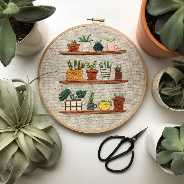 Embroidery Hoop Decor
