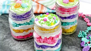 Easter Cake In A Jar Recipe