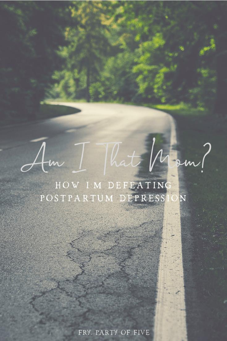 The dark road of depression