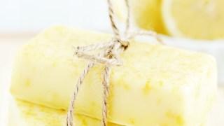 Homemade Lemon Soap {Mother's Day Gift Ideas}