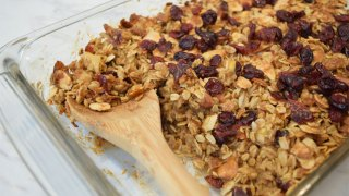 Cranberry Oatmeal Breakfast Bake