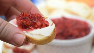 Holiday Cranberry Orange Relish