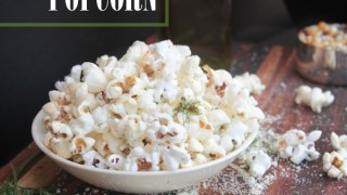 Sour Cream & Onion Popcorn