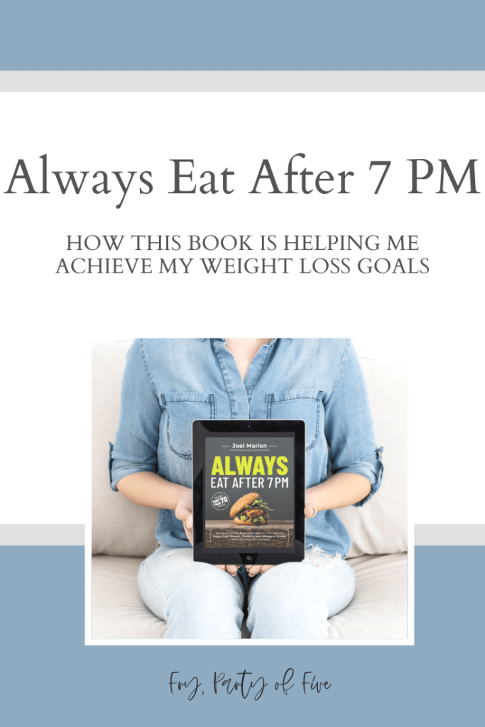 Diet book - Always Eat After 7pm