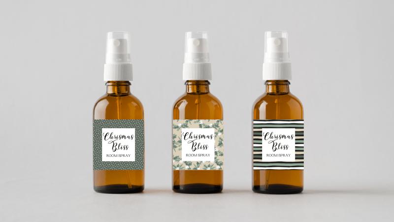 Essential Oil Blend Bottles
