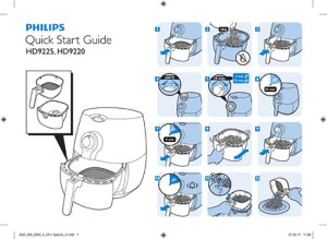 Philips AirFryer manual  Fry The World