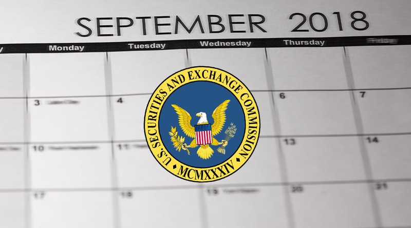 SEC on 5 ETFs September