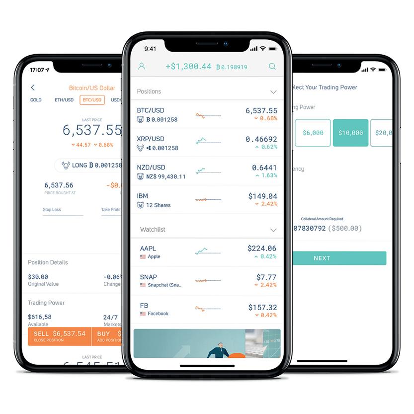 Quantfury Trading App