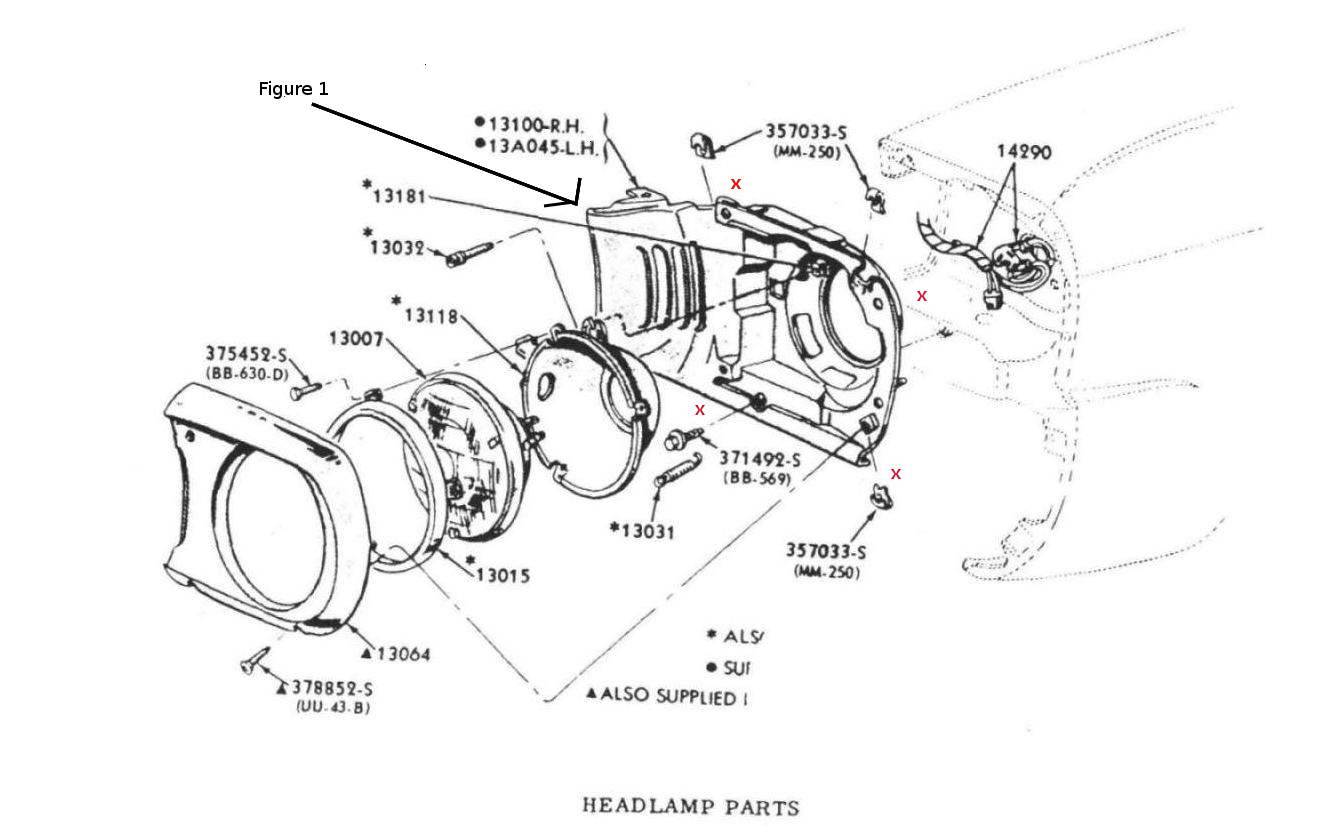 Headlight Wiring Diagram