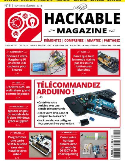 Hackable Magazine No.3 - Novembre-Décembre 2014