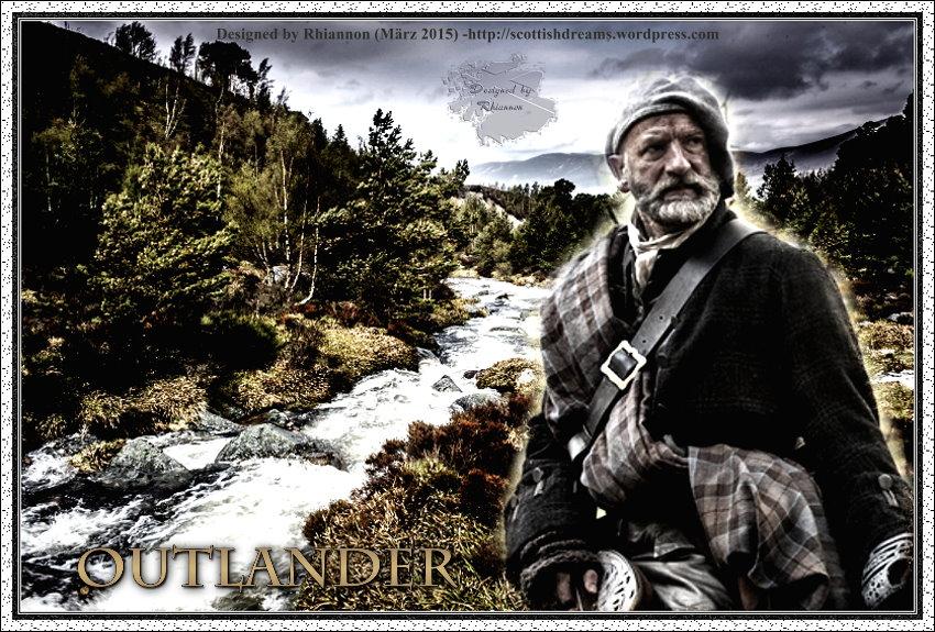 Outlander-Wallpaper: Dougal