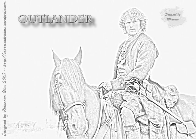 Outlander - Pencil Drawing Jamie