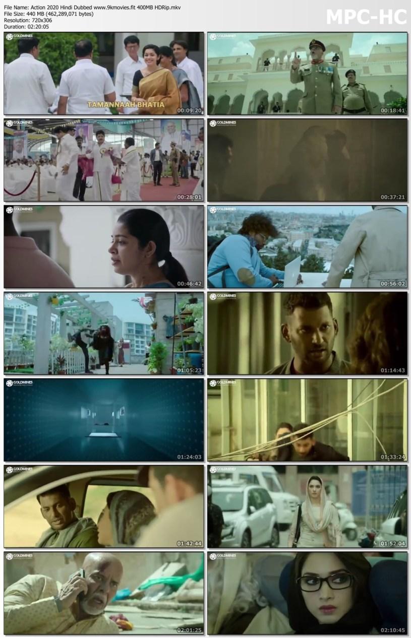 Download Action 2020 Hindi Dubbed 400MB HDRip