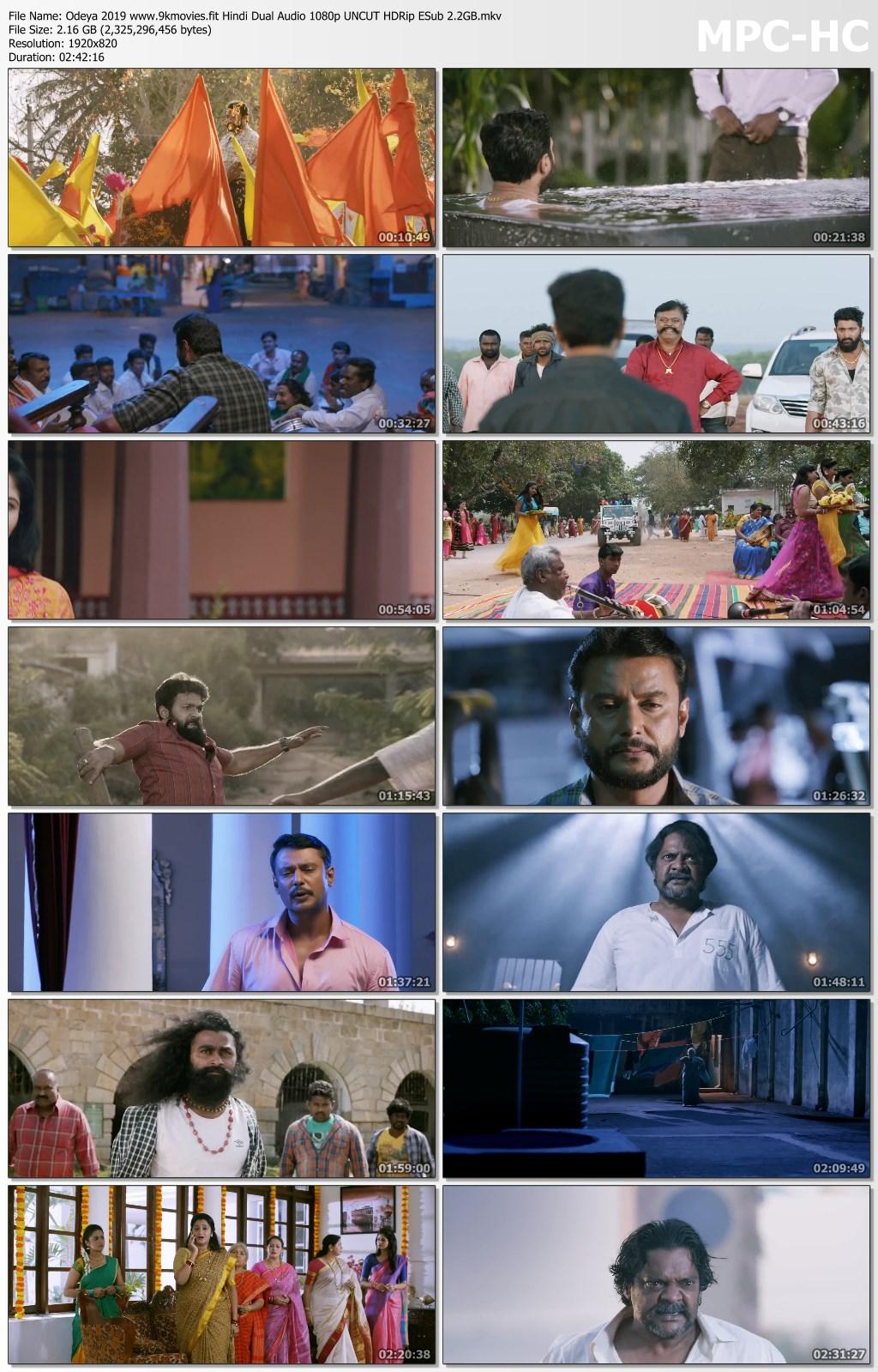 Download Odeya 2019 Hindi Dual Audio 720p UNCUT HDRip ESub 1.7GB