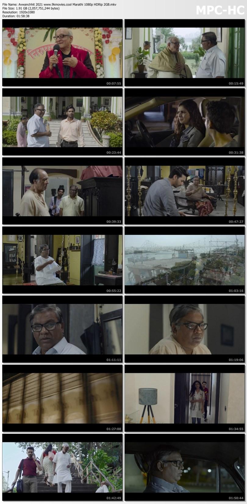 Download Avwanchhit 2021 Marathi 1080p HDRip 2GB