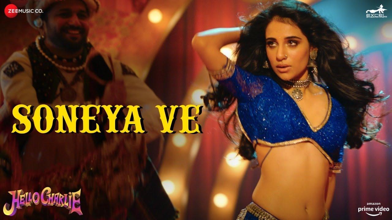 Soneya Ve (Hello Charlie) 2021 Hindi Item Video Song 1080p HDRip 60MB Download