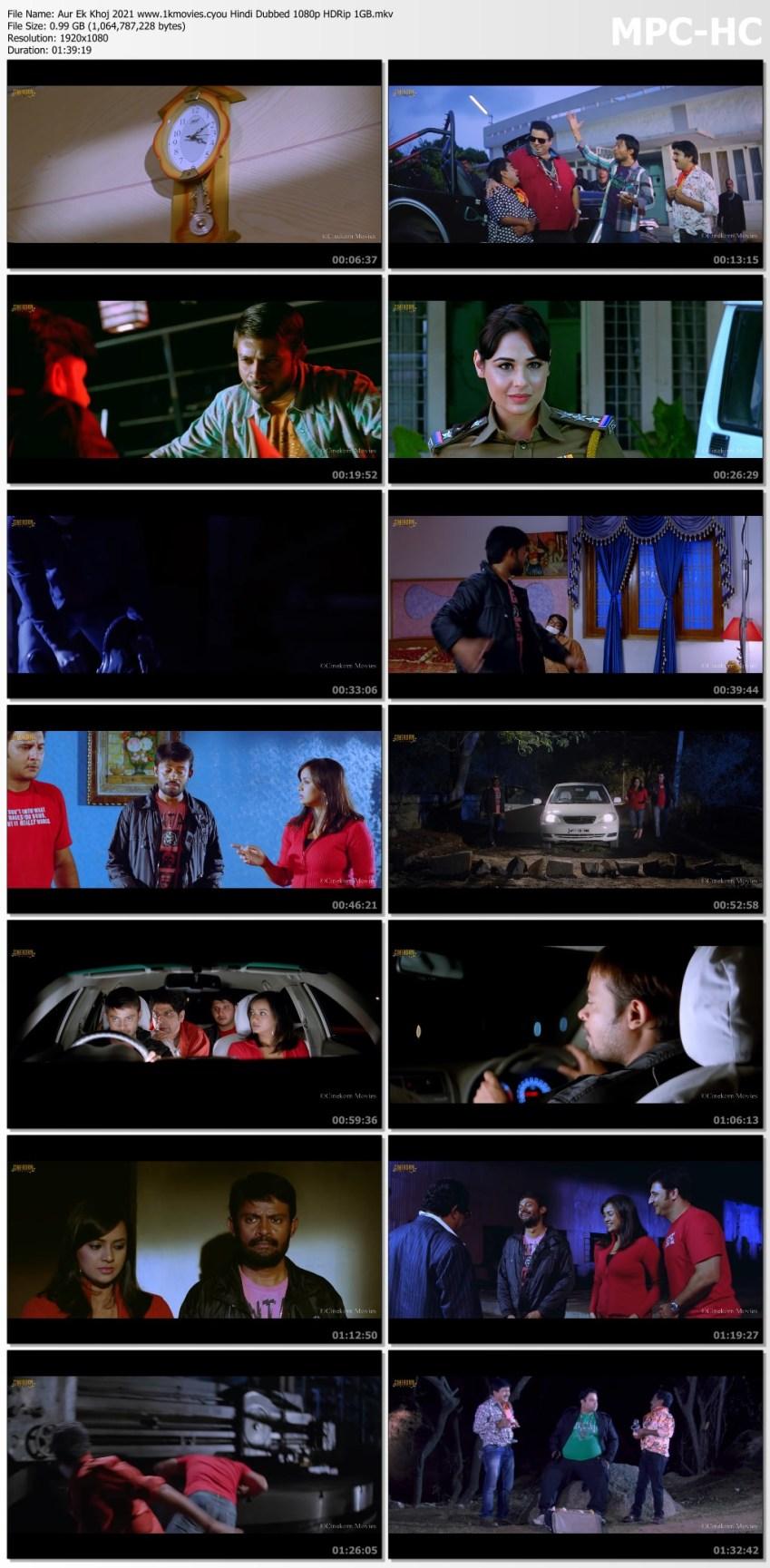 Download Aur Ek Khoj (Ala Jarigindi Oka Roju) 2021 Hindi Dubbed 1080p HDRip 1GB