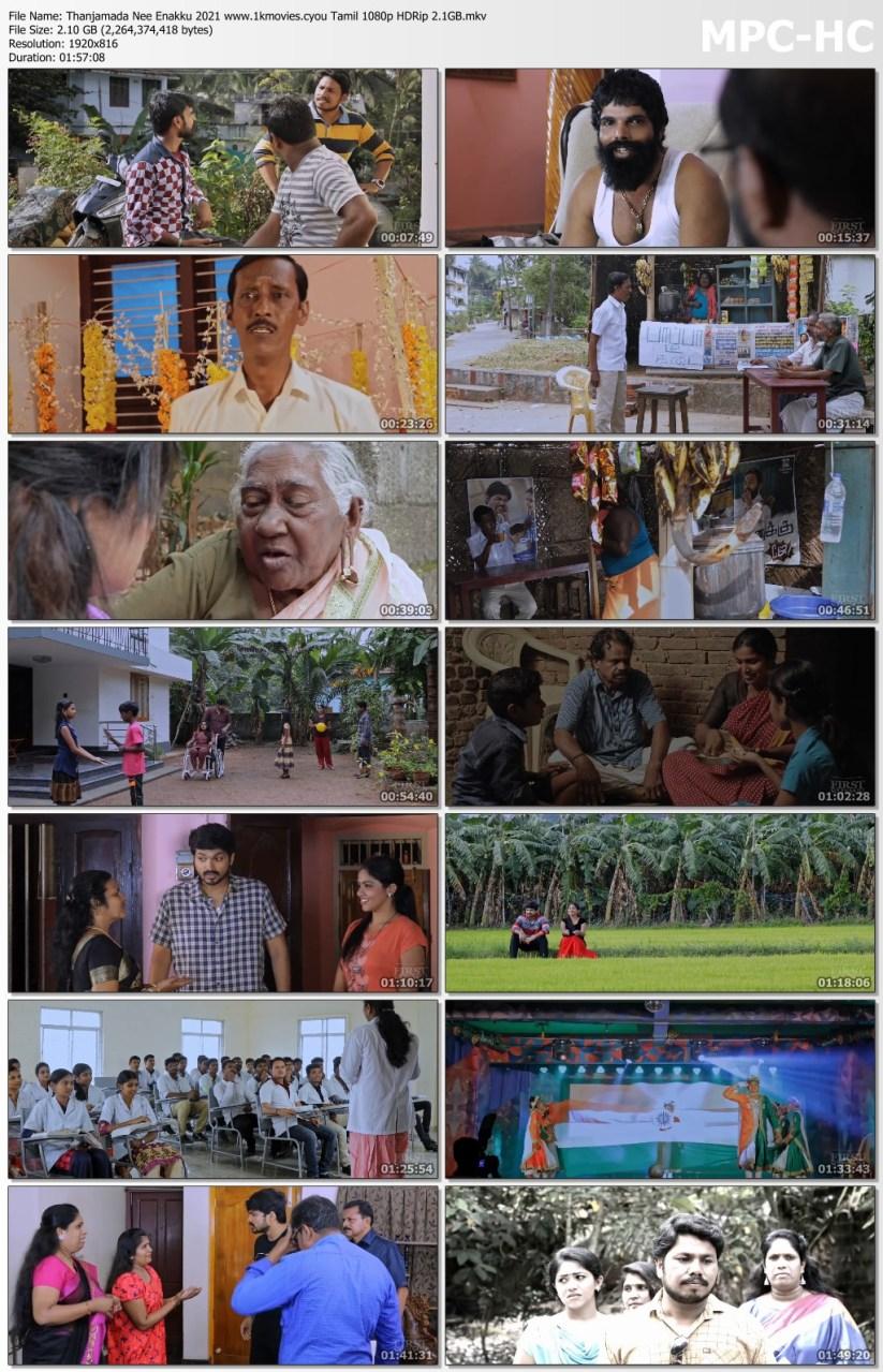Download Thanjamada Nee Enakku 2021 Tamil 480p HDRip 400MB