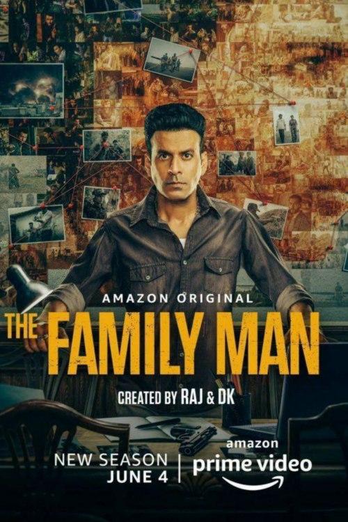 Download The Family Man 2021 S02 Hindi Amazon Original Complete Web Series 720p HDRip 2.8GB