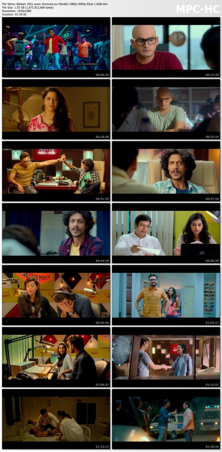 Download Befaam 2021 Marathi 720p HDRip ESub 650MB