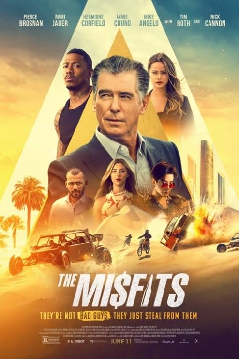 The Misfits 2021 English Movie 720p HDRip 800MB Download