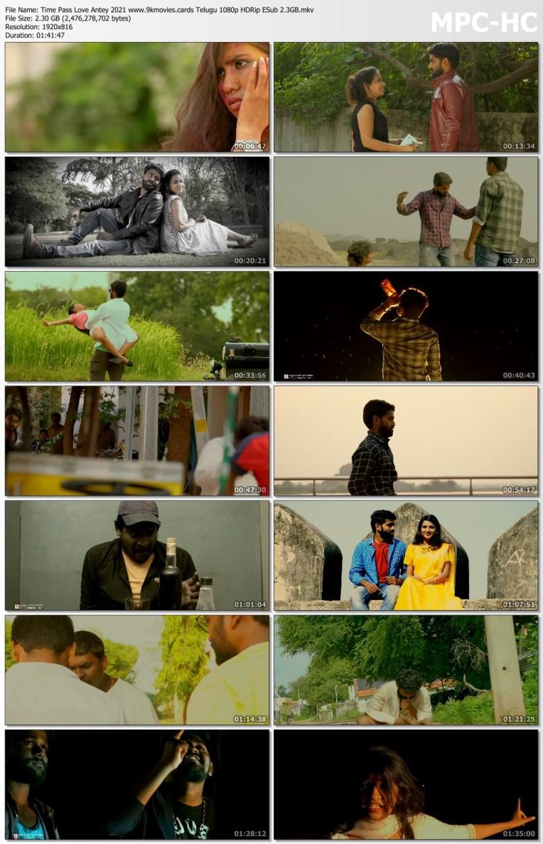 Download Time Pass Love Antey 2021 Telugu 1080p HDRip ESub 2.3GB