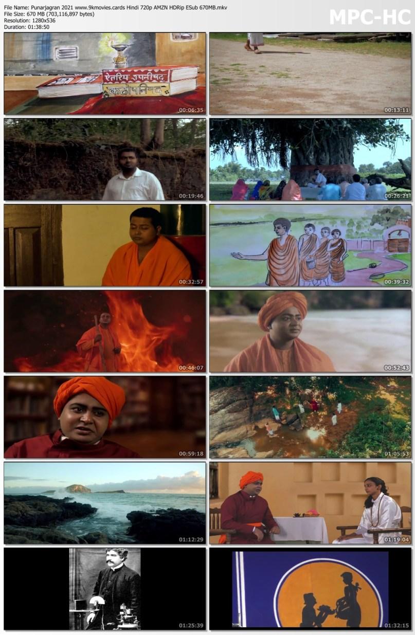 Download Punarjagran 2021 Hindi 720p AMZN HDRip ESub 670MB