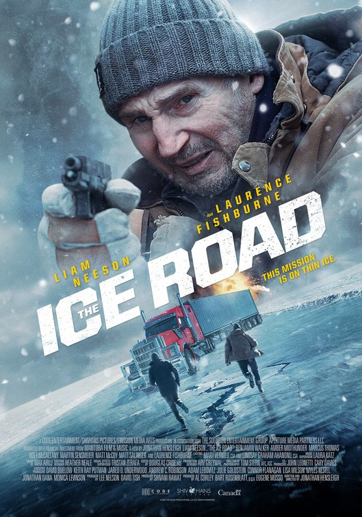 The Ice Road (2021) English Movie 720p HDRip 800MB Download