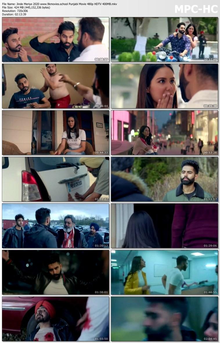Download Jinde Meriye 2020 Punjabi Movie 480p HDTV 400MB