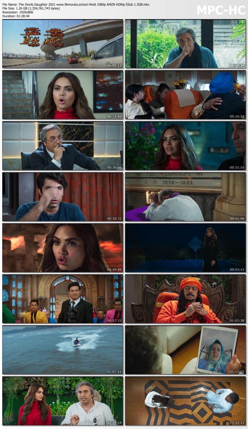 Download The Devils Daughter 2021 Hindi 1080p AMZN HDRip ESub 1.3GB
