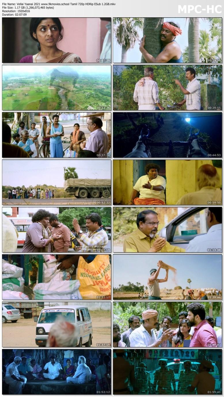 Download Vellai Yaanai 2021 Tamil Movie 720p HDRip ESub 1.2GB