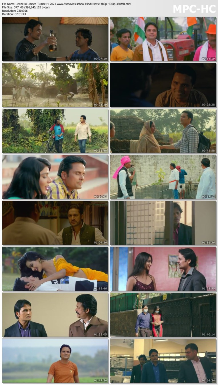 Download Jeene Ki Umeed Tumse Hi 2021 Hindi Movie 480p HDRip 380MB