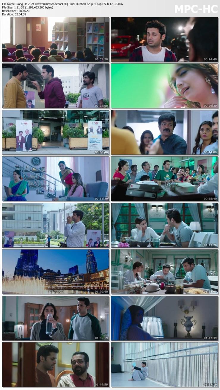 Download Rang De 2021 HQ Hindi Dubbed 720p HDRip ESub 1.1GB