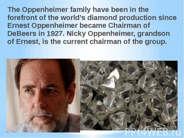 Image result for Nicky Oppenheimer & Family