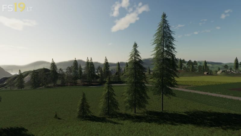 Placeable Trees Pack V 1 2 Fs19 Mods Farming Simulator