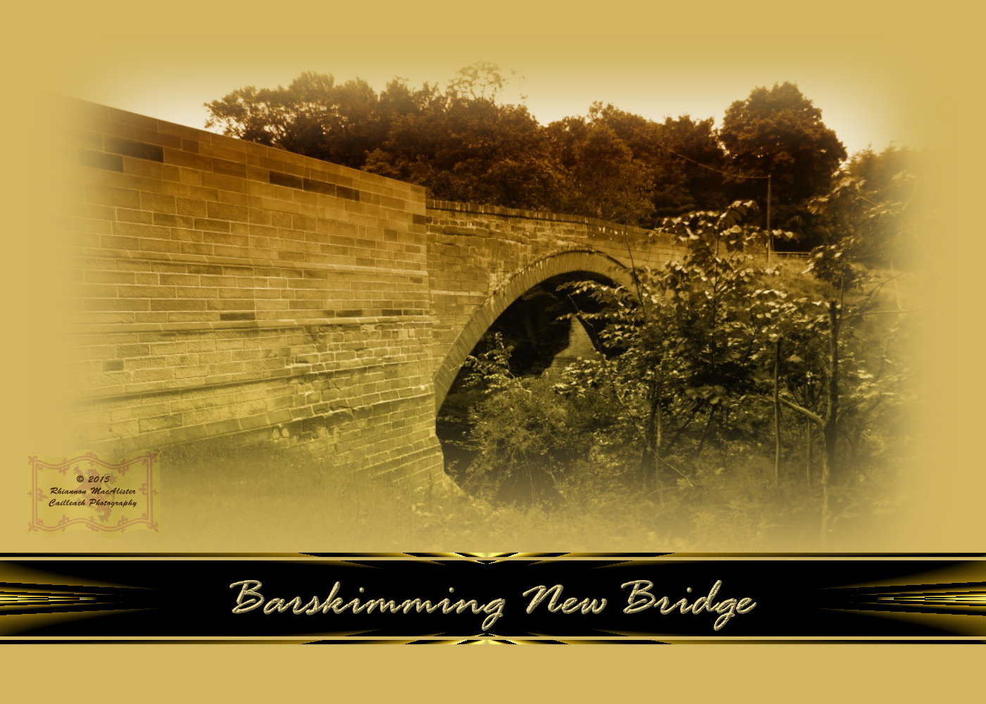 Barskimming New Bridge