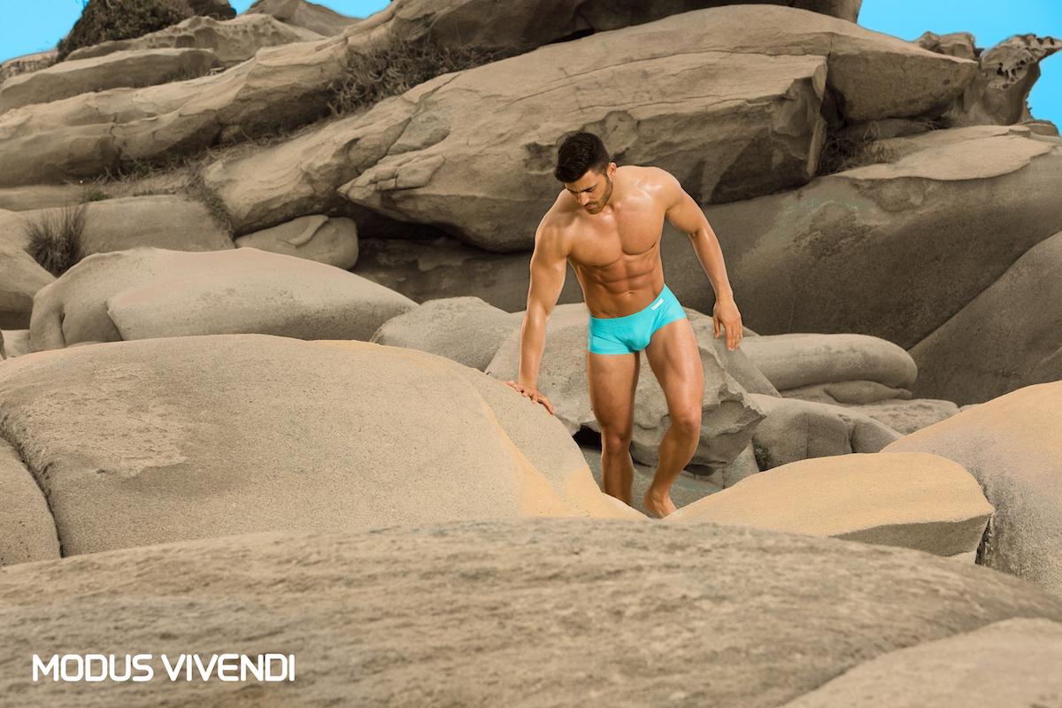 Modus Vivendi - Neon Swimwear campaign