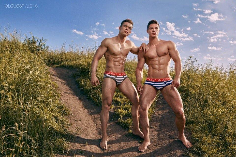 Dmitry Averyanov & Alexandr Dorokhov by Ruslan Elquest - Aesthetix Era Underwear