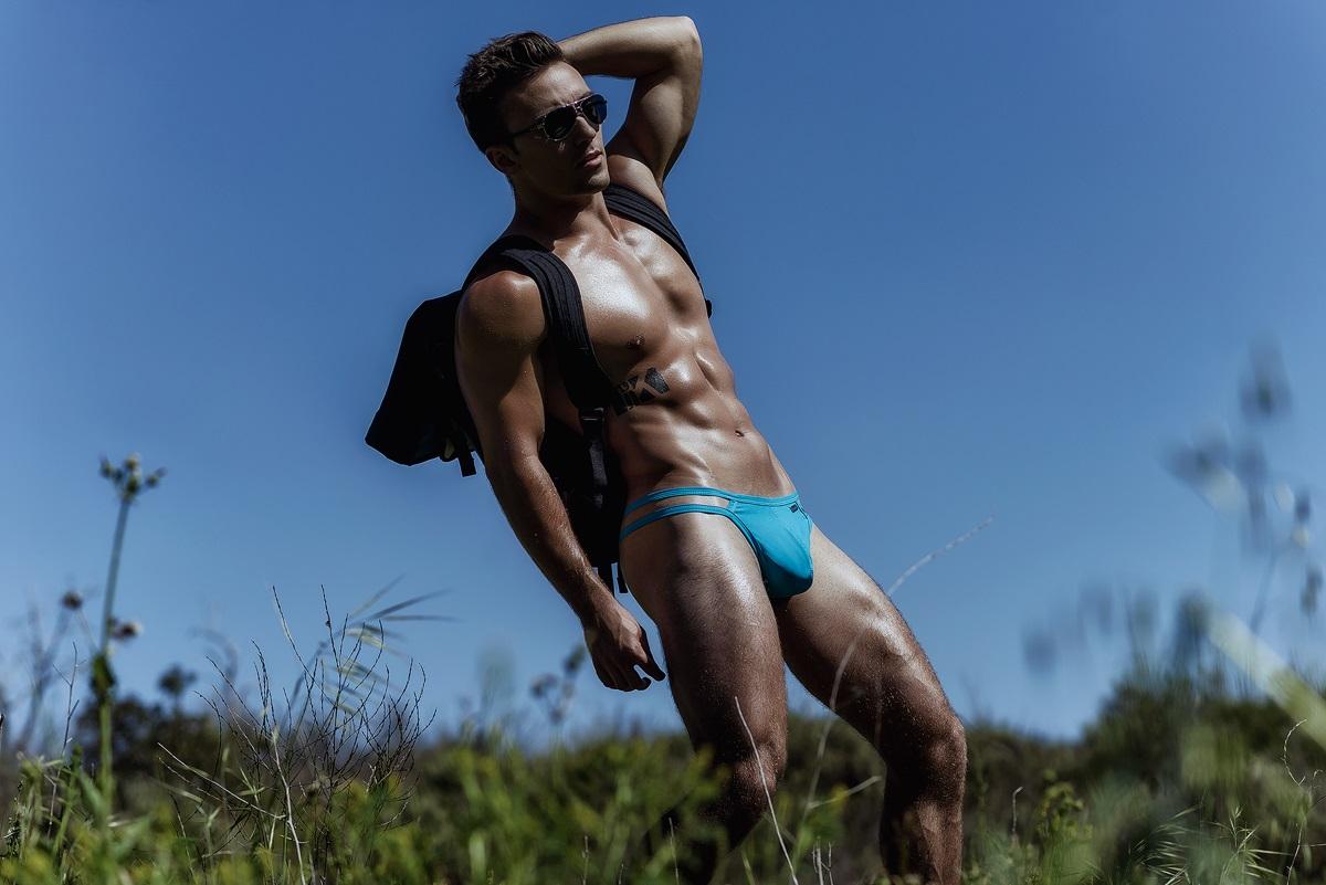 Bradley Brooks by Armando Adajar (HUNK2 Underwear)