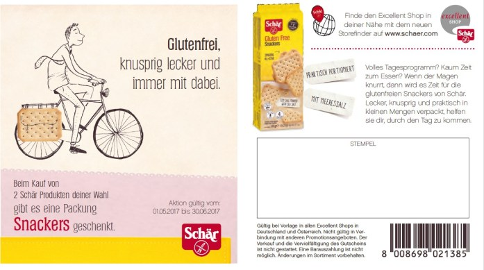 Schär Coupon snackers