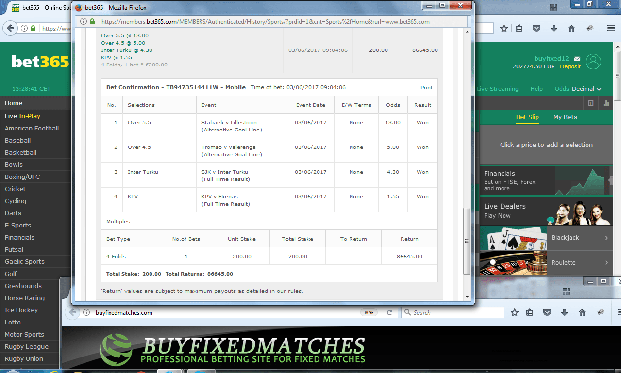 bet tipster fixed matches