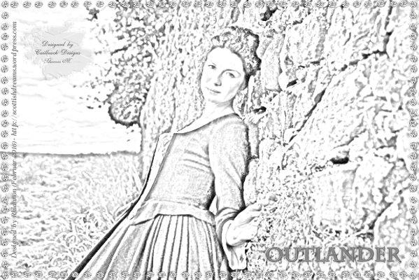 Outlander - Pencildrawing (Claire)
