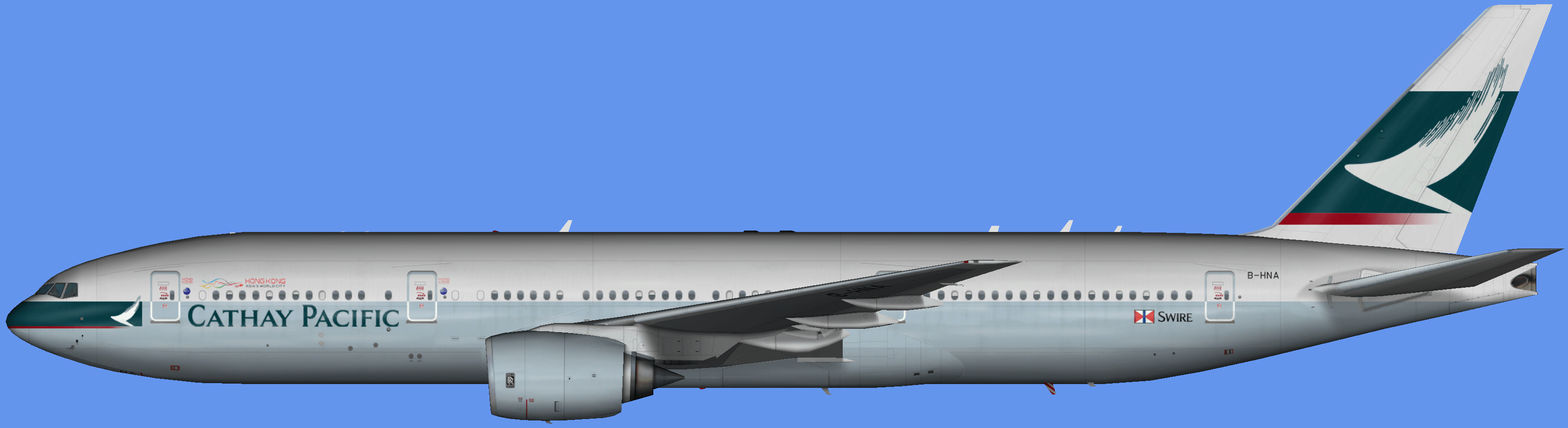 Cathay Pacific Boeing 777-200 – FSAI Repaints