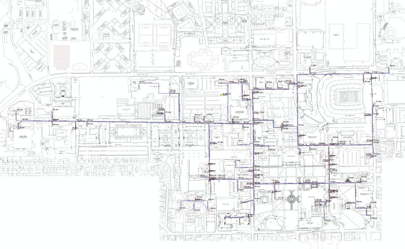 Osu Utilities Master Plan Stm Print Stillwater Ok Fsb