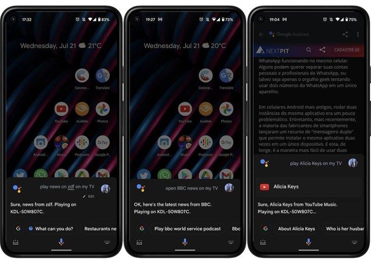 Google Assistant TV voice commands news