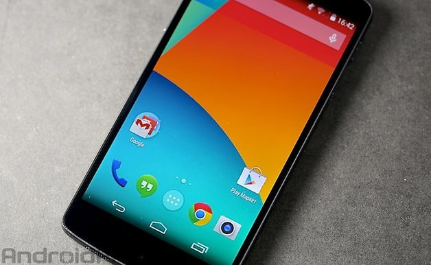 Nexus 5 Android 4 4 Пользовательский интерфейс