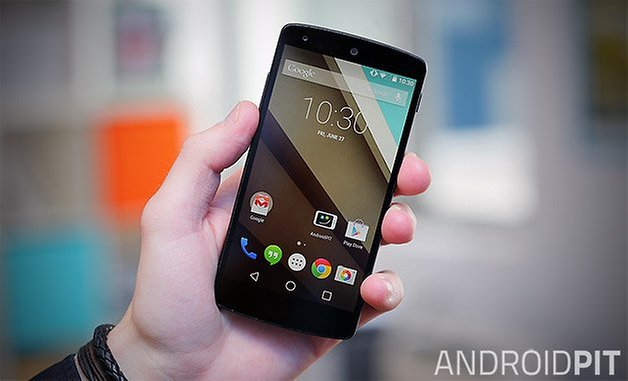 домашний экран android l nexus 5 teaser02