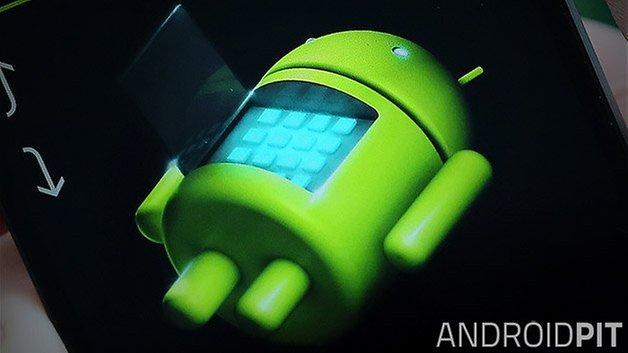 восстановление Android крупным планом