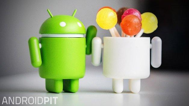 androidpit леденец bugdroid